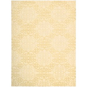 "Nourison Ambrose 3'9"" x 5'9"" Linen Rectangle Rug"