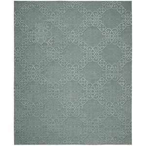 "Nourison Ambrose 9'9"" x 13'9"" Slate Rectangle Rug"