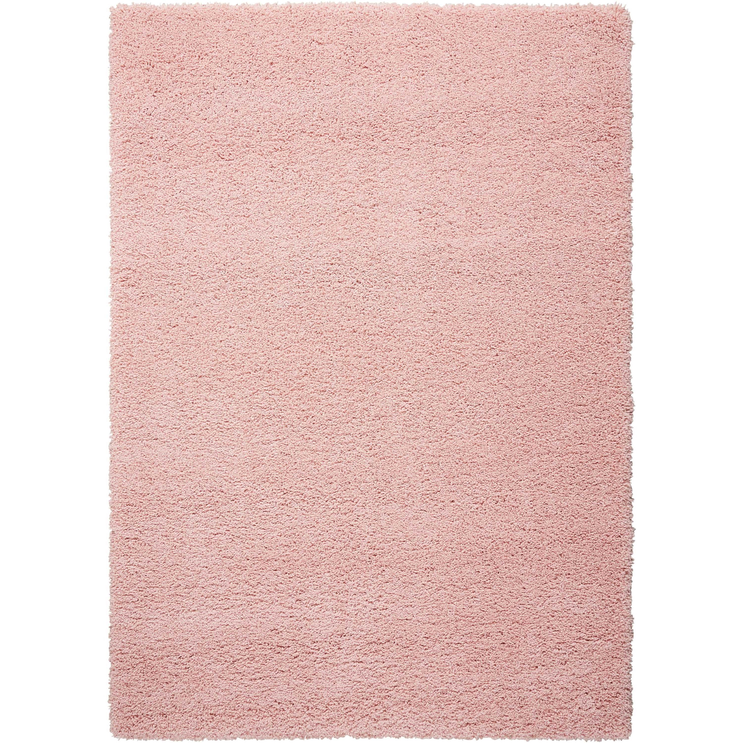 """Amore2 5'3"""" X 7'5"""" Blush Rug by Nourison at Home Collections Furniture"""