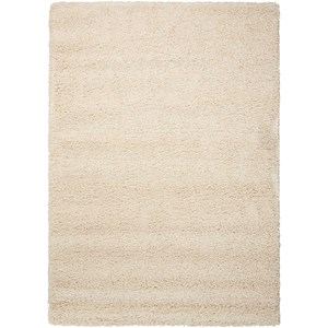 "Nourison Amore2 7'10"" x 10'10"" Cream Rectangle Rug"