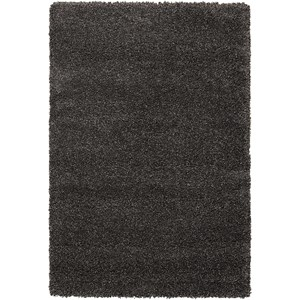 "Nourison Amore2 5'3"" x 7'5"" Dark Grey Rectangle Rug"