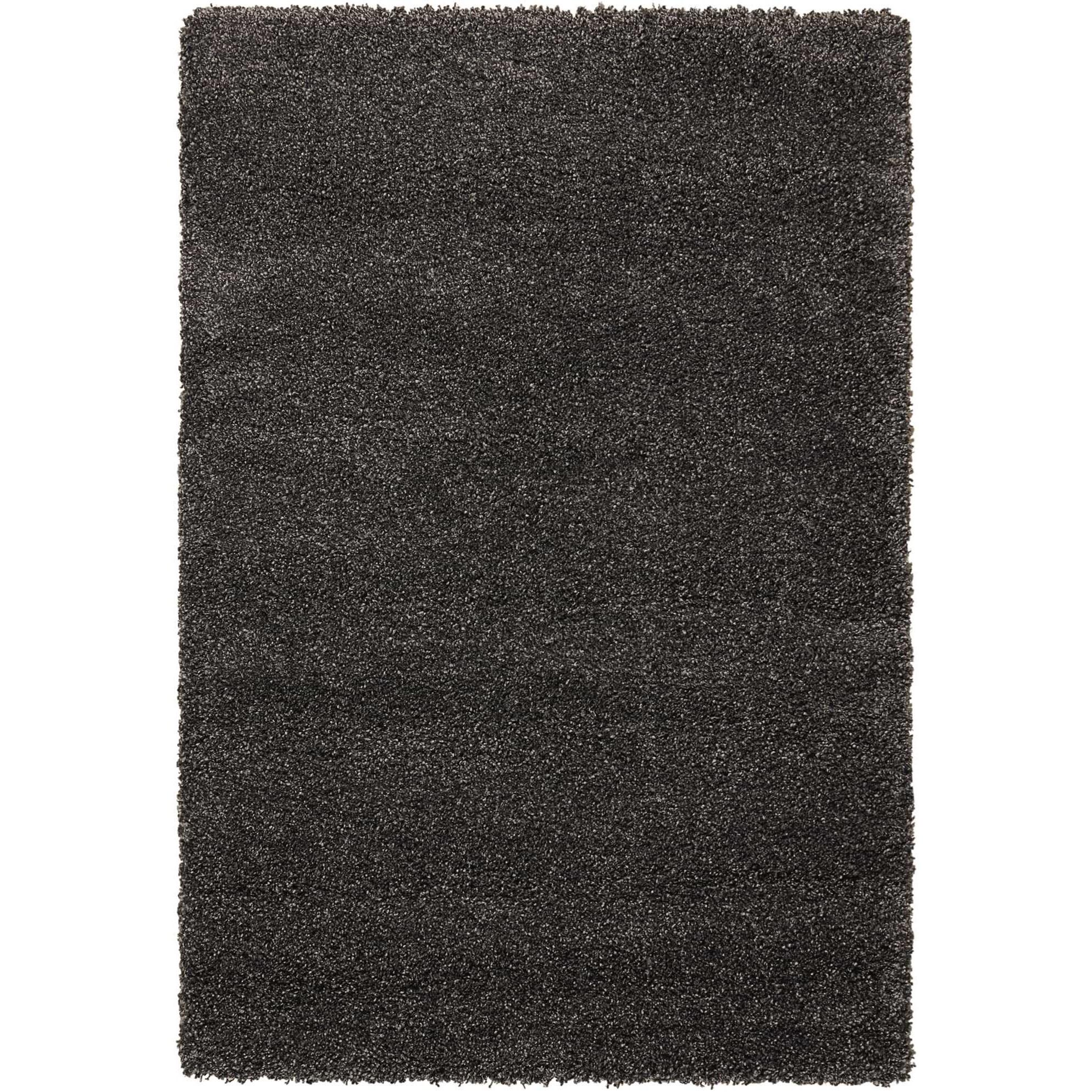 "Amore 7'10"" x 10'10"" Dark Grey Rectangle Rug by Nourison at Sprintz Furniture"