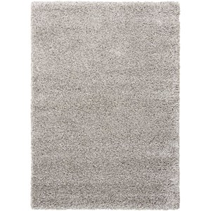 "Nourison Amore2 7'10"" x 10'10"" Lt Grey Rectangle Rug"