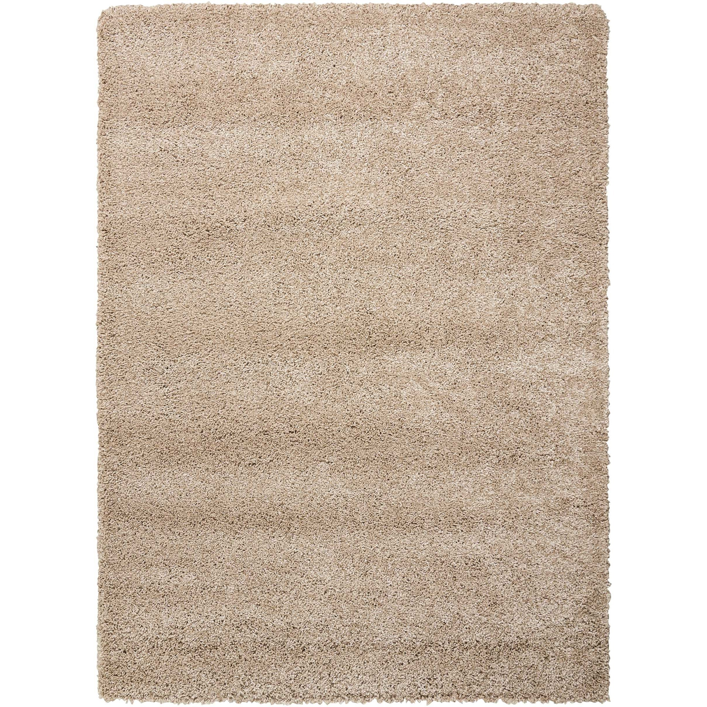 """Amore 5'3"""" x 7'5"""" Oyster Rectangle Rug by Nourison at Sprintz Furniture"""