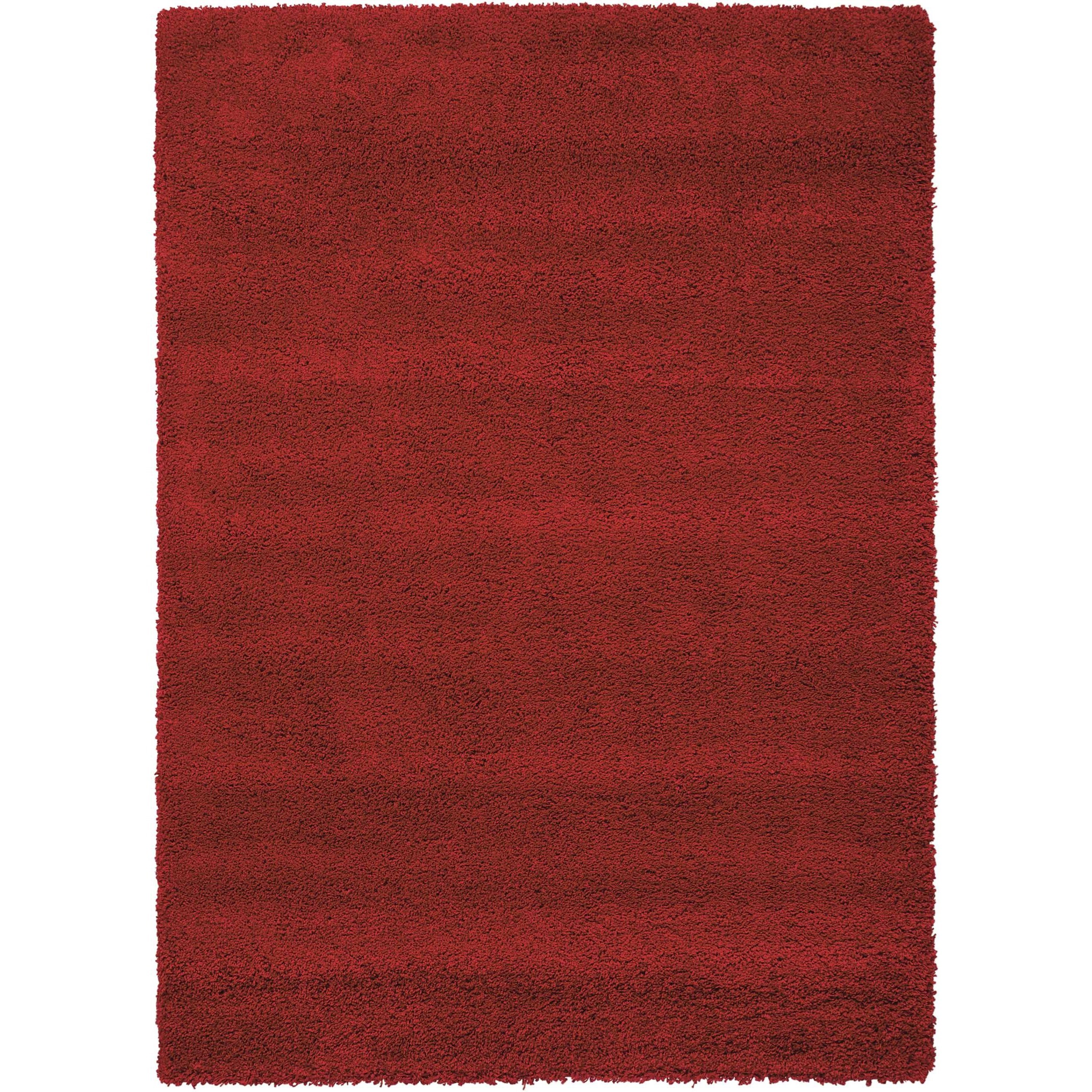 """7'10"""" x 10'10"""" Red Rectangle Rug"""