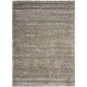 "Nourison Amore 5'3"" x 7'5"" Stone Rectangle Rug"