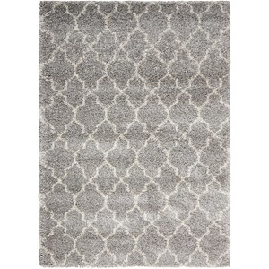 "Nourison Amore 3'11"" x 5'11"" Ash Rectangle Rug"