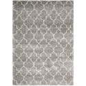 "Nourison Amore 7'10"" x 10'10"" Ash Rectangle Rug - Item Number: AMOR2 ASH 710X1010"