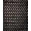 Nourison Amore 10' x 13' Charcoal Rectangle Rug - Item Number: AMOR2 CHA 10X13