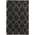 "Nourison Amore 3'2"" x 5' Charcoal Rectangle Rug - Item Number: AMOR2 CHA 32X5"