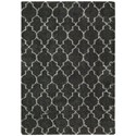 "Nourison Amore 5'3"" x 7'5"" Charcoal Rectangle Rug - Item Number: AMOR2 CHA 53X75"