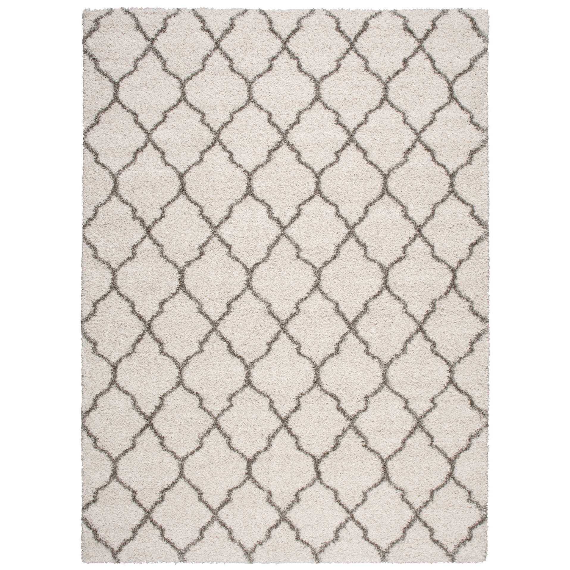 Amore 10' x 13' Cream Rectangle Rug by Nourison at Home Collections Furniture