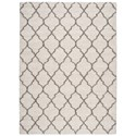 Nourison Amore 10' x 13' Cream Rectangle Rug - Item Number: AMOR2 CRM 10X13