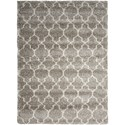 "Nourison Amore 3'2"" x 5' Stone Rectangle Rug - Item Number: AMOR2 STONE 32X5"
