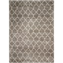 "Nourison Amore 7'10"" x 10'10"" Stone Rectangle Rug - Item Number: AMOR2 STONE 710X1010"