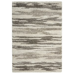 "Nourison Amore2 7'10"" x 10'10"" Oyster Rectangle Rug"