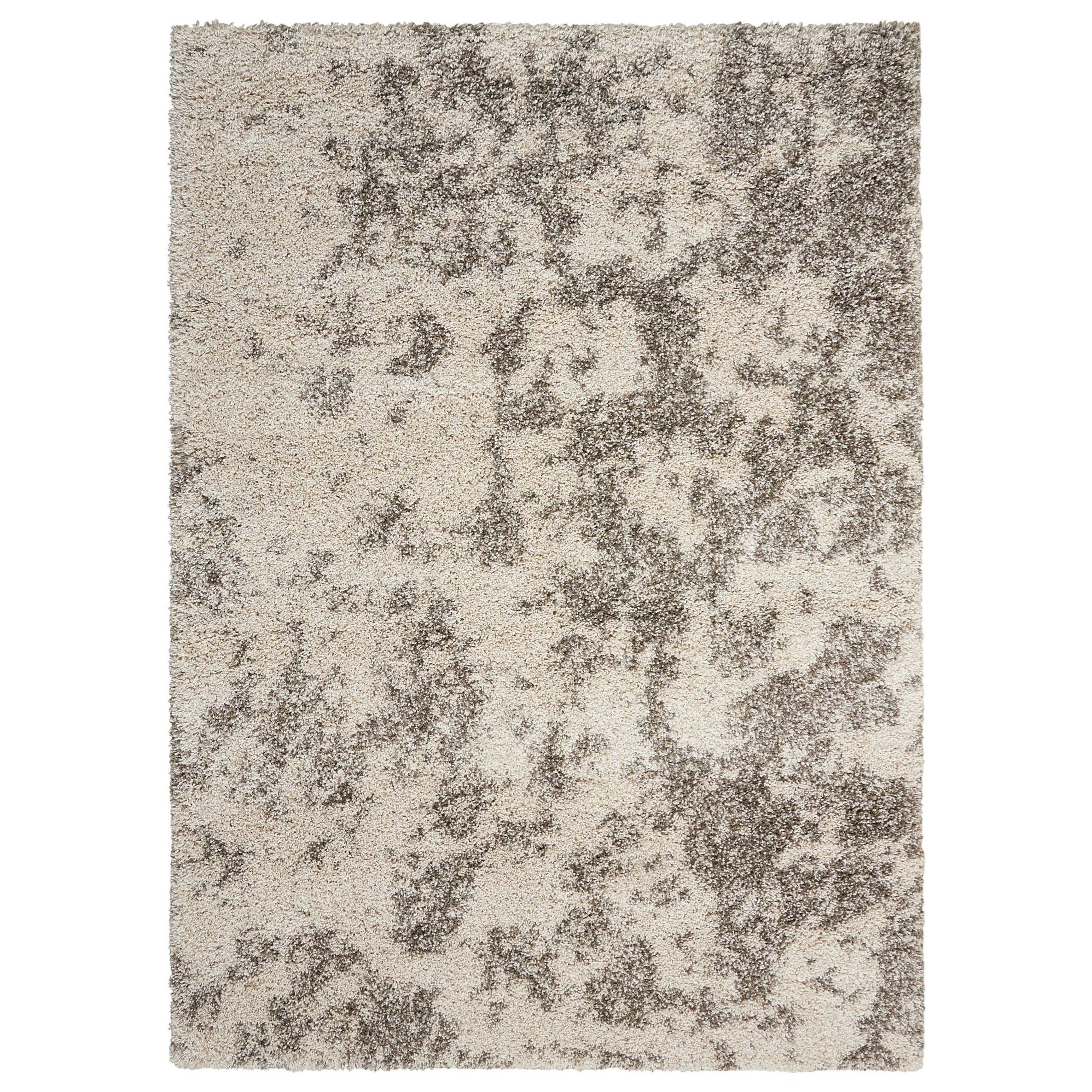 "Amore 3'11"" x 5'11"" Cobble Stone Rectangle Rug by Nourison at Sprintz Furniture"