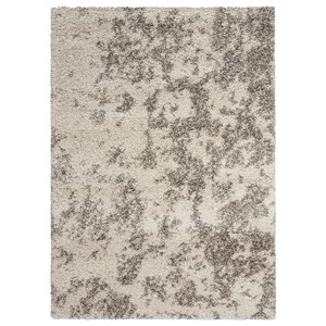 "Nourison Amore2 3'11"" x 5'11"" Cobble Stone Rectangle Rug"