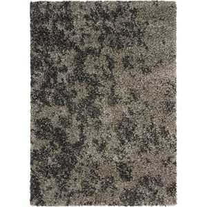 "Nourison Amore 5'3"" x 7'5"" Granite Rectangle Rug"