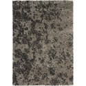 "Nourison Amore 5'3"" x 7'5"" Granite Rectangle Rug - Item Number: AMOR4 GRANI 53X75"