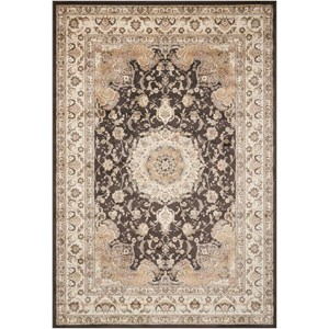 "Nourison Ararat 3'9"" x 5'9"" Charcoal Rectangle Rug"