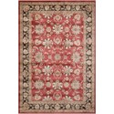 "Nourison Ararat 7'10"" x 10'6"" Burgundy Rectangle Rug - Item Number: ARA03 BUR 710X106"