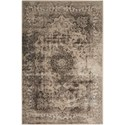 "Nourison Ararat 7'10"" x 10'6"" Smoke Rectangle Rug - Item Number: ARA06 SMOKE 710X106"