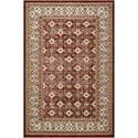 """Nourison Aria 3'11"""" X 5'11"""" Red Rug - Item Number: AR002 RED 311X511"""