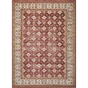 "Nourison Aria 5'3"" X 7'3"" Red Rug - Item Number: AR002 RED 53X73"