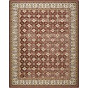 """Nourison Aria 7'10"""" X 10' Red Rug - Item Number: AR002 RED 710X10"""