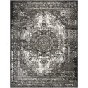"Nourison Aria 7'10"" X 10' Charcoal Rug - Item Number: AR005 CHA 710X10"