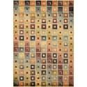 "Nourison Aristo 5'3"" x 7'5"" Multicolor Rectangle Rug - Item Number: ARS02 MTC 53X75"