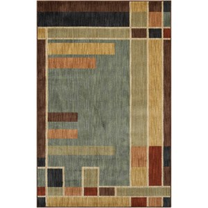 "Nourison Aristo 5'3"" x 7'5"" Multicolor Rectangle Rug"