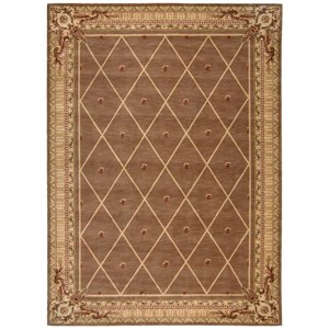 "Nourison Ashton House 9'6"" x 13' Cocoa Rectangle Rug"