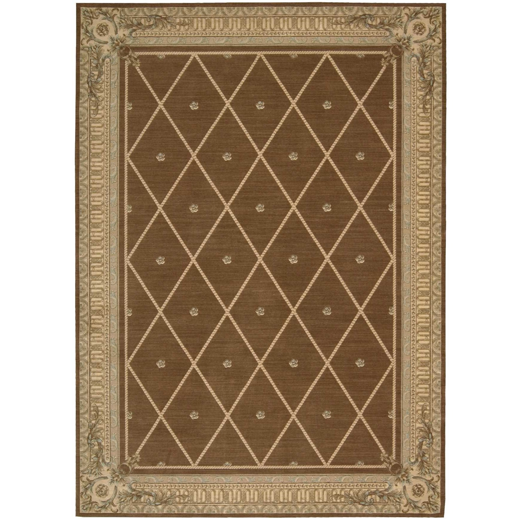 "9'6"" x 13' Mink Rectangle Rug"