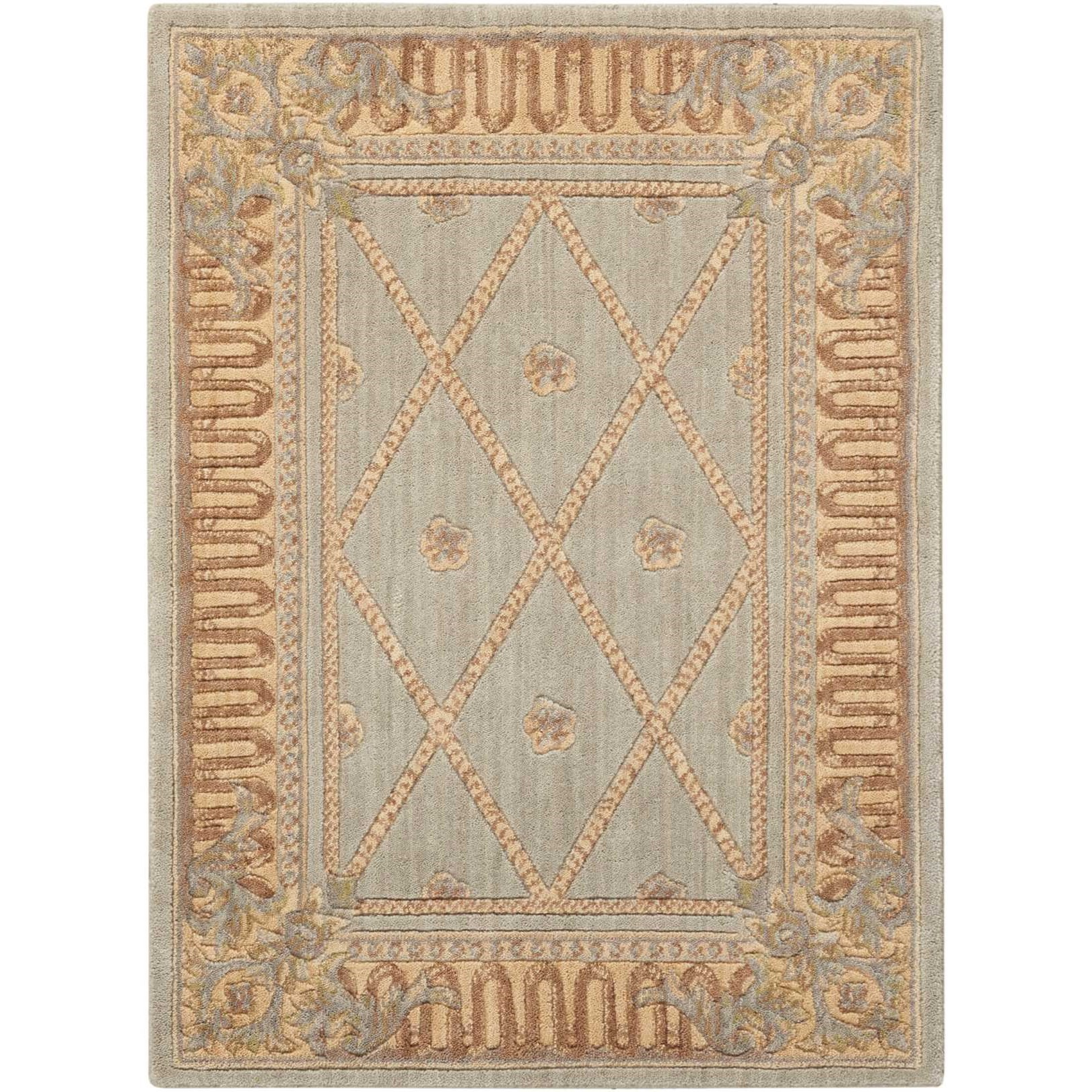"Ashton House 3'6"" x 5'6"" Surf Rectangle Rug by Nourison at Sprintz Furniture"