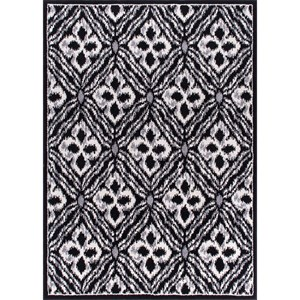"Nourison Atash 5'3"" x 7'3"" Black Rectangle Rug"