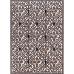 "Nourison Atash 5'3"" x 7'3"" Grey Rectangle Rug"