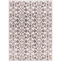 "Nourison Atash 5'3"" x 7'3"" Ivory Rectangle Rug - Item Number: ATA02 IV 53X73"