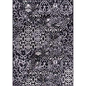 "Nourison Atash 7'10"" x 10'6"" Black Rectangle Rug"