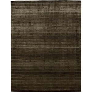"Nourison Aura 9'6"" x 13' Chocolate Area Rug"