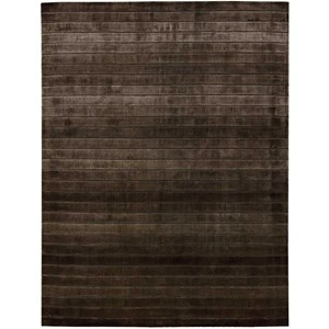 Nourison Aura 8' x 11' Chocolate Rectangle Rug
