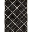Nourison Barcaly Butera Lifestyle - Cooper 4' x 6' Coal Area Rug - Item Number: 32177