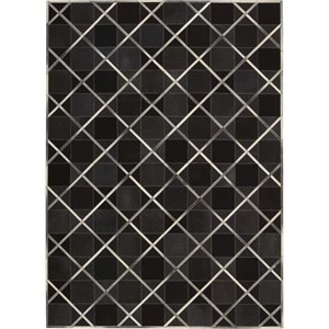 "Nourison Barcaly Butera Lifestyle - Cooper 5'3"" x 7'5"" Coal Area Rug"