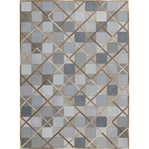 "Nourison Barcaly Butera Lifestyle - Cooper 5'3"" x 7'5"" Denim Area Rug"