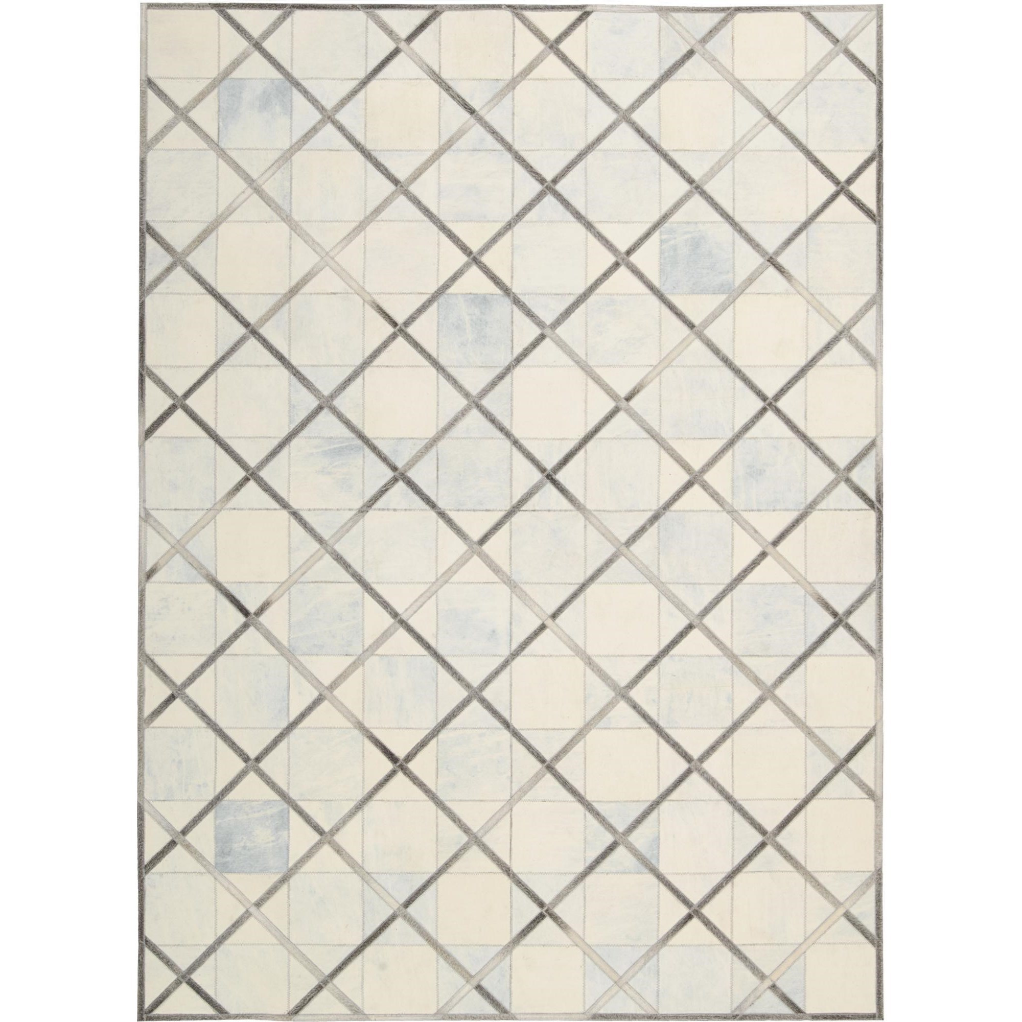 """Nourison Barcaly Butera Lifestyle - Cooper 5'3"""" x 7'5"""" Cloud Area Rug - Item Number: 32190"""