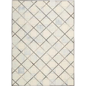 "Nourison Barcaly Butera Lifestyle - Cooper 5'3"" x 7'5"" Cloud Area Rug"