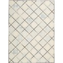 "Nourison Barcaly Butera Lifestyle - Cooper 5'3"" x 7'5"" Cloud Area Rug - Item Number: 32190"