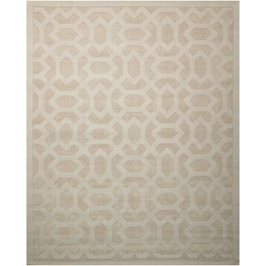 "Nourison Barcelona 3'6"" x 5'6"" Sand Rectangle Rug"