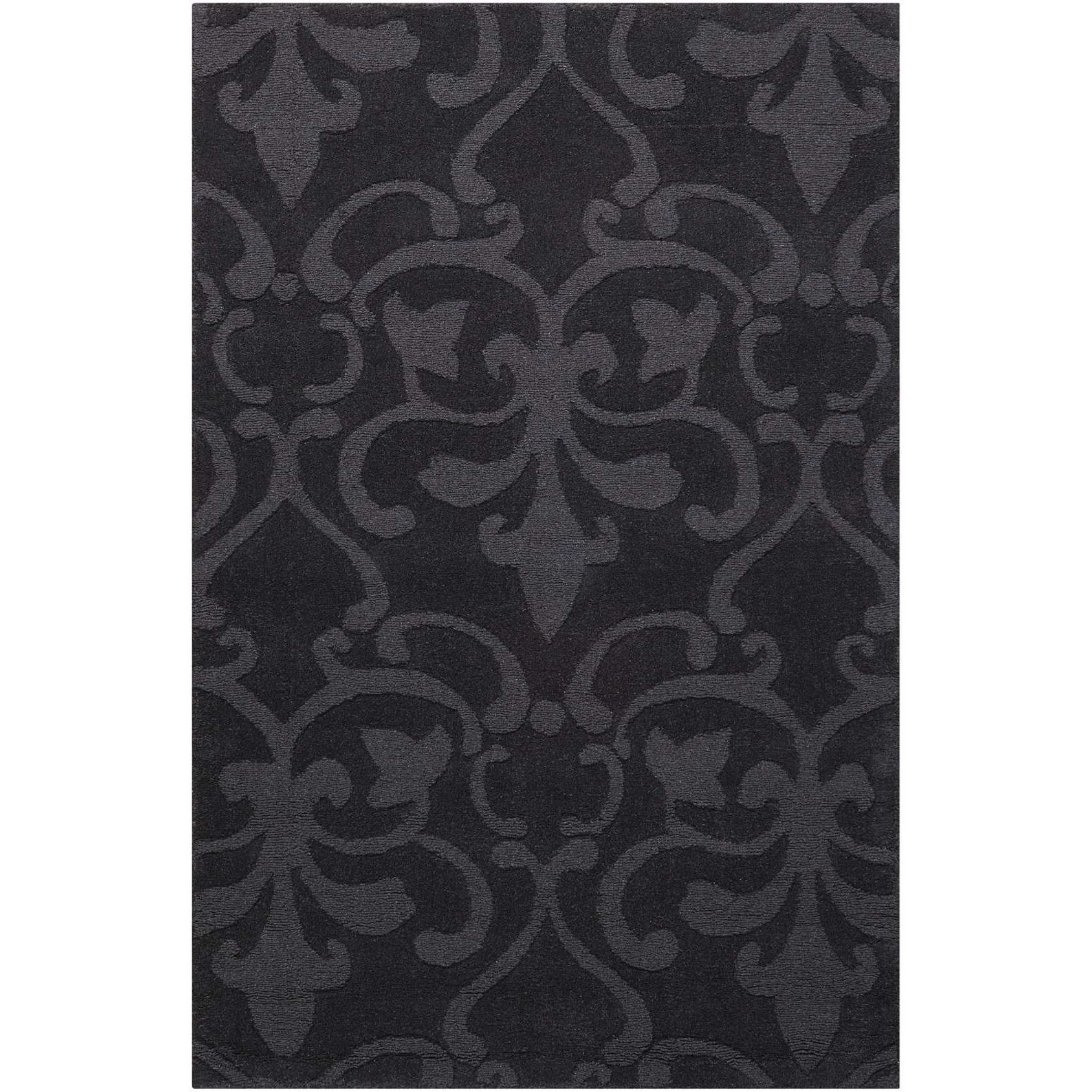 "Nourison Barcelona 7'9"" x 9'9"" Charcoal Rectangle Rug - Item Number: BAR04 CHA 79X99"